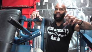 CT Fletcher As You've Never Seen Him Before!