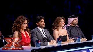 الحلقة الثامنة عشر كاملة - العروض المباشرة الاسبوع 5 - The X Factor 2013