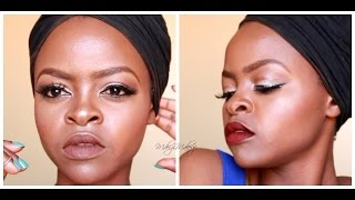 Tutorial-Red&Brown Lip