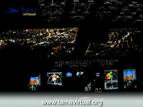 Flight Guayaquil Quito Ecuador Embraer 170 Tame