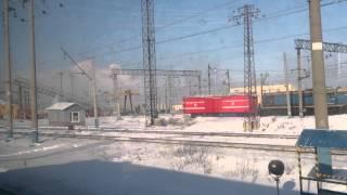 Крушение поезда по станции Каменск-уральский 8.02.2014г