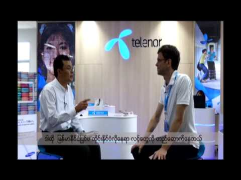 DVB talks to Petter Furberg, CEO of Telenor in Burma