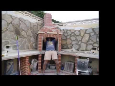 Asadores de ladrillo para jardin videos videos - Como construir una barbacoa de obra ...