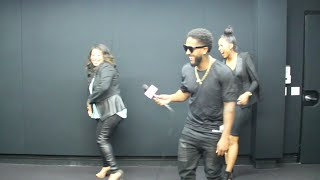 (Funny!) Love and Hip Hop's Omarion & Apryl Dance & Answer Crazy Questions! - YouTube