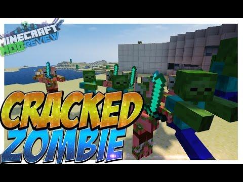 Cracked Zombie Mod (Pig Cerdos Y Zombies Con Inteligencia) Para Minecraft 1.8/1.7.10/1.7.2/1.6.4