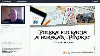Jacek Ścibor - Polska Edukacja a huragan Pinokio