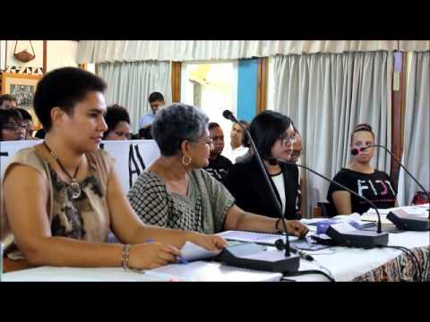 FWCC and FWRM presentation to Fiji Constitution Commission – Part 1