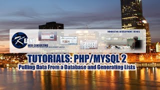 Tutorials: PHP / MySQL 02: Pulling Data From A Database And Generating Lists.