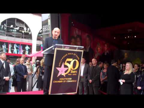 Ben Kingsley Walk of Fame Ceremony