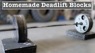 In this video I show you how I made the deadlift blocks at Untamed Strength out of spare horse stall mats. Deadlift blocks can be used for block pulls or deficit deadlifts. Follow me on IG @untamedstrengthUntamed Strength is a Strongman/Powerlifting Gym in Sacramento, CA www.trainuntamed.com