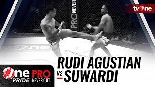 Video [HD] Rudi Agustian vs Suwardi - One Pride Pro Never Quit #19 - TITLE FIGHT MP3, 3GP, MP4, WEBM, AVI, FLV Mei 2018