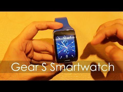 Samsung Gear S Smartwatch Quick First Looks