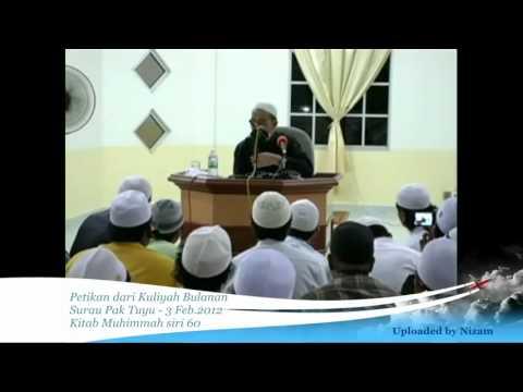Ustaz Azhar Idrus   akikat Seorang Isteri