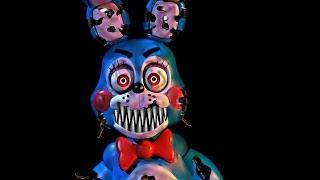 [FNaF speed edit] nightmare toy bonnie