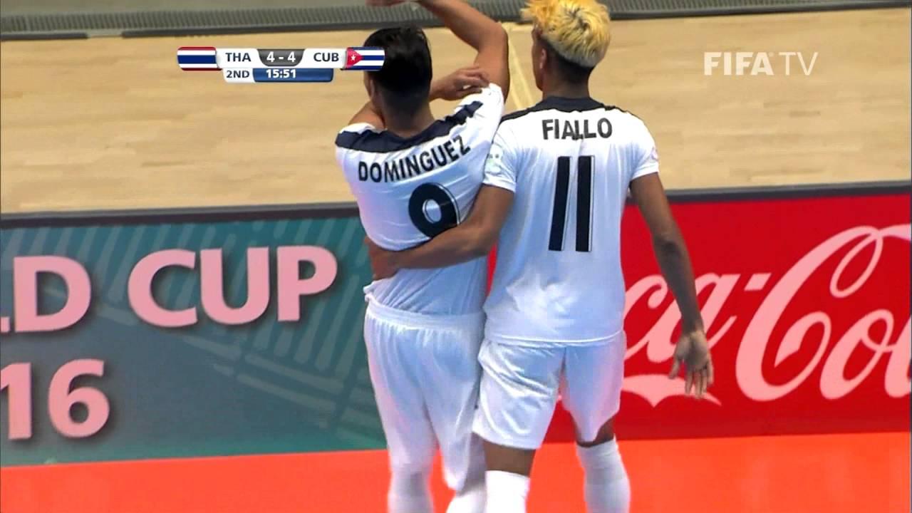 Match 15: Thailand v Cuba – FIFA Futsal World Cup 2016