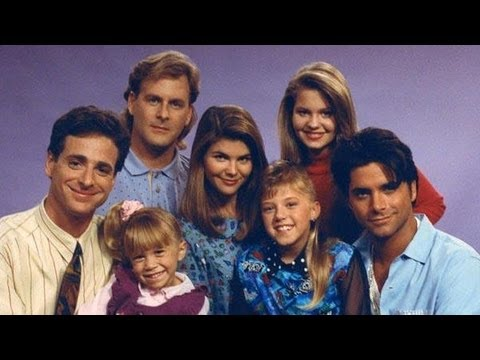 Full house cast: then and now (видео)