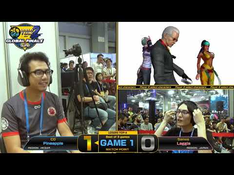 Pineapple (菠蘿) vs Laggia (ラギア) - KOF XIV Neo Geo World Tour Season 2 Global Finals Top 8
