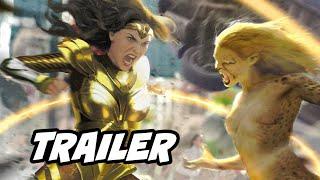 Wonder Woman 1984 Trailer Breakdown and Easter Eggs