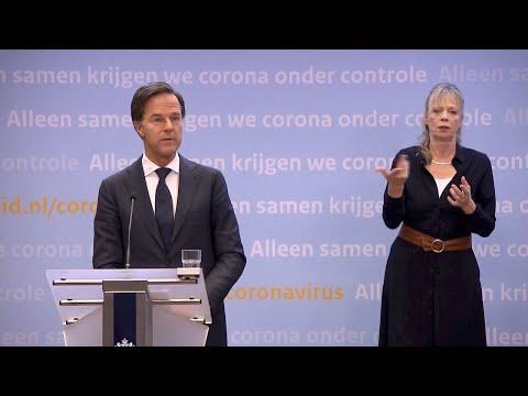 12 januari 2021: inleidend statement premier Rutte en minister De Jonge