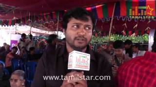 Bobby Simha at Production No 11 Movie Launch