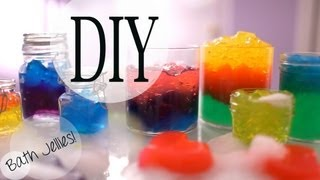 DIY Fun Bath Jellies inspired by Lush | ANNEORSHINE - YouTube