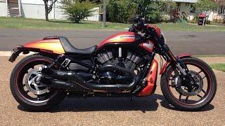 4. My Harley Davidson Night Rod Special - GOPRO ACTION !