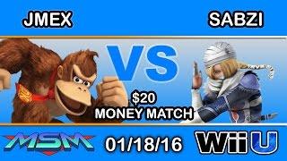 MSM 33 $20 Money Match: 2GG | Jmex (Donkey Kong) vs. Sabzi (Sheik)