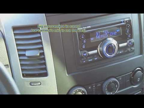 Dodge Mercedes Sprinter stock stereo Sound 5 replacement