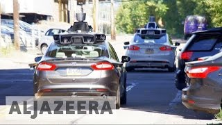 Uber launches driverless taxis