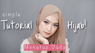 Video SIMPLE HIJAB TUTORIAL MENUTUP DADA | SARITIW MP3, 3GP, MP4, WEBM, AVI, FLV Juni 2018