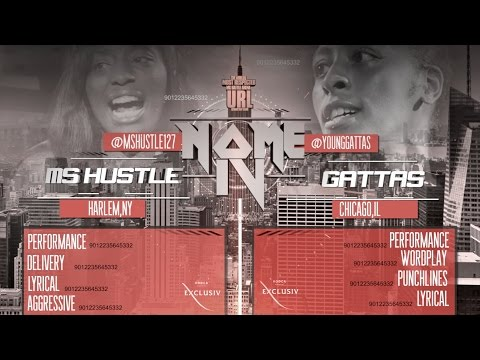 SMACK/URL: Ms Hustle VS Gattas
