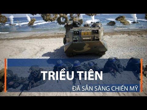 Triều Tiên đã sẵn sàng chiến Mỹ | VTC1 - Thời lượng: 2 phút, 15 giây.