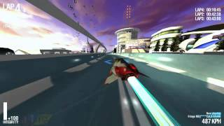 SlipStream GX - Wipeout Fan Game - October 2013 Demo
