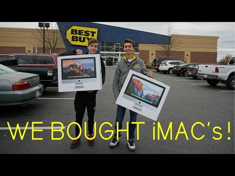 , title : 'IDIOTS Go Computer Shopping! We Bought iMacs!'