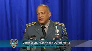 Conferencia de Prensa (Asalto a la casa de un General de la Policía Nacional), Miércoles 13 de Septiembre 2017