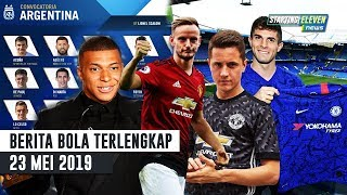 Download Video RESMI Pulisic Ke Chelsea 🔥 Skuat Argentina coppa America 😍 Rakitic Gantikan Herrera (Berita Bola) MP3 3GP MP4