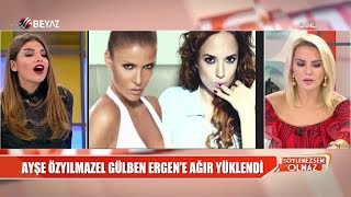 Download Video Ayşe Özyılmazel'den Gülben Ergen'e ağır sözler / Selin İmer'den köpekli yanıt MP3 3GP MP4