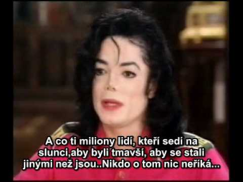 Michael Jackson talks to Oprah part 3 (czech subtitles)