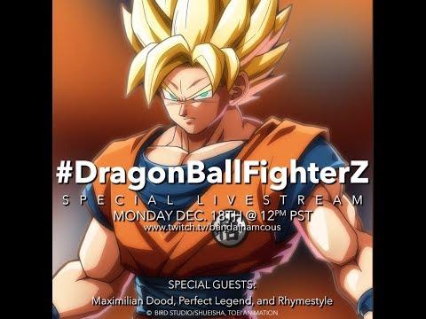 Replay du livestream du 18/12/2017 de Dragon Ball FighterZ