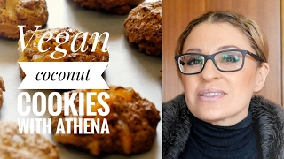 Vegan coconut cookies by Athena Loizides