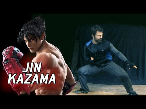 This guy does Tekken combos in real life. Here he is doing Jin Kazama's karate.
