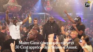 CianosTV - G-Unit Party // 50 Cent & Tony Yayo + Maitre Gims - 30/10/11