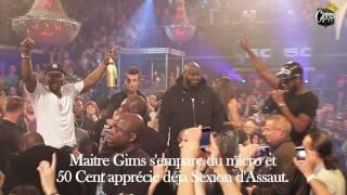 CianosTV - G-Unit Party // 50 Cent & Tony Yayo + Maitre Gims - 30/10/11