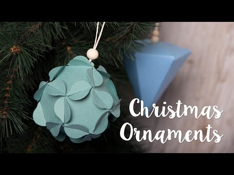 Christmas Ornaments - Sizzix
