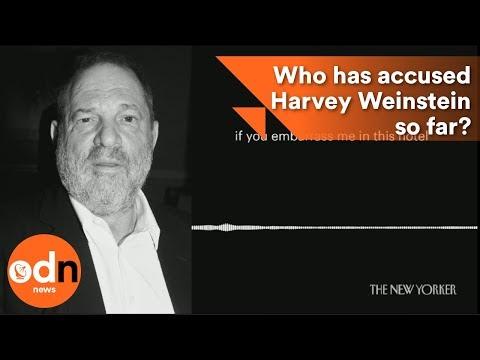 Who has accused Harvey Weinstein so far?