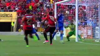 Gol do Sport no Empate contra o Salgueiro na Final do Campeonato Pernambucano 2017. Jogo de Ida, Jogo na Ilha do Retiro em Recife. (HD)