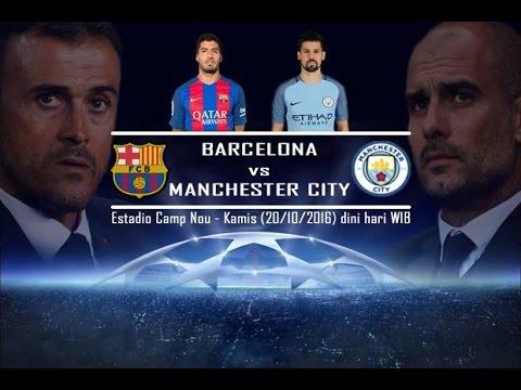 Liga Champions 2016 Barcelona V Man.City ( Live Macth )