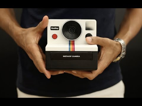 InstaGif Camera A Polaroid Style Camera That Prints Handheld GIF Images