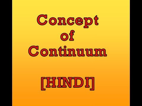 Concept of Continuum in Hindi (THERMODYNAMICS)
