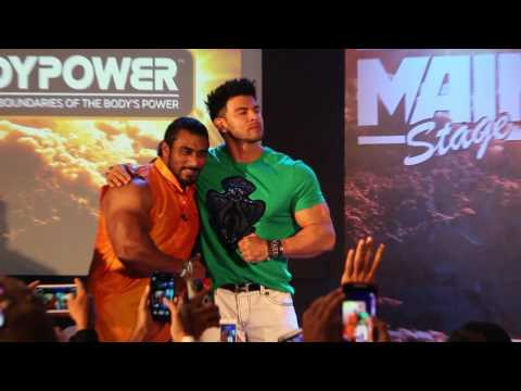 Video BodyPower Expo 2017 Mumbai   Filmstar Sahil Khan & Mr. India Sangram Chaugle download in MP3, 3GP, MP4, WEBM, AVI, FLV January 2017